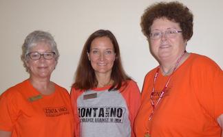 Jill Coluburn, Nancy McCulloch & Lori Robinson