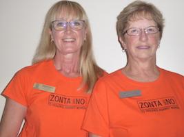 Sheena Poole & Judy Powers