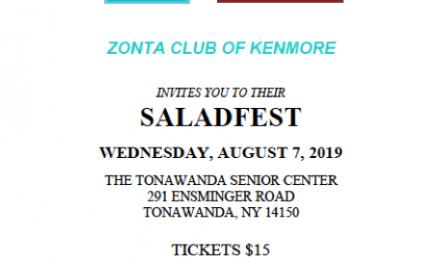 ZC of Kenmore Hosts Annual Saladfest Fundraiser Aug. 7, 2019