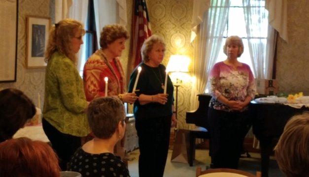 ZC of Jamestown Inducts Three New Members