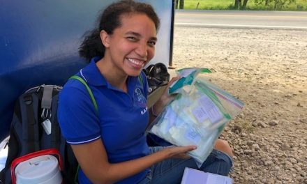 Zonta Birthing Kits making a difference in a refugee camp in Venezuela!