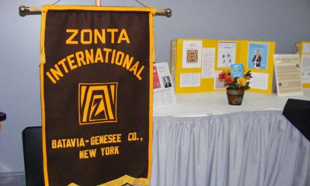 ZC of Batavia-Genesee County celebrated Zonta International's 100th Anniversary