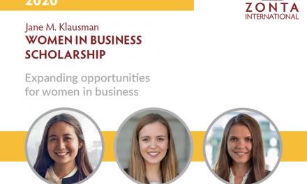 2020 Jane M. Klausman Women in Business Scholarship Candidate's Deadline – Application Aug 15th